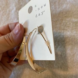 A New Day Gold Colored Nickel Free Earrings